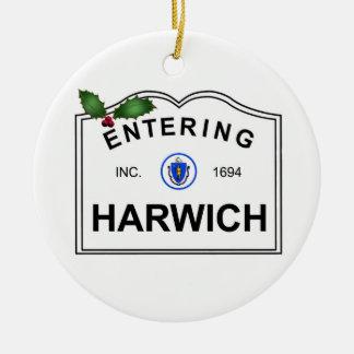 Ornement Rond En Céramique Harwich mA