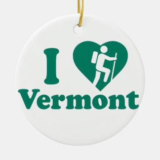 Ornement Rond En Céramique Hausse Vermont