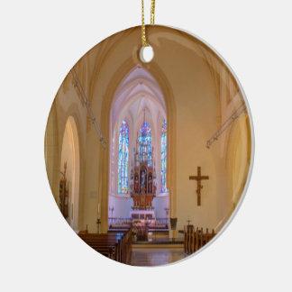 Ornement Rond En Céramique Heiligenstädter Pfarrkirche St Michael