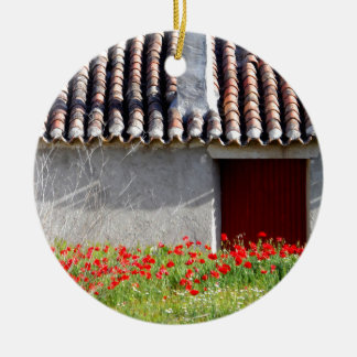 Ornement Rond En Céramique Hola Espana/bonjour voyage de l'Espagne