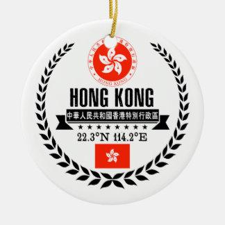 Ornement Rond En Céramique Hong Kong