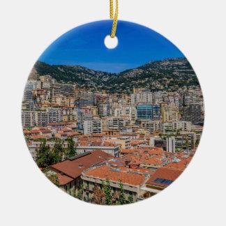 Ornement Rond En Céramique Horizon du Monaco