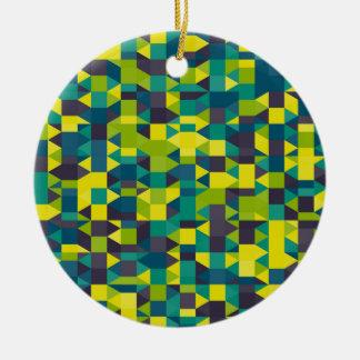 Ornement Rond En Céramique image abstraite