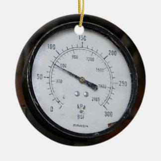 Ornement Rond En Céramique Indicateur de pression
