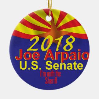 Ornement Rond En Céramique Joe ARPAIO AZ 2018