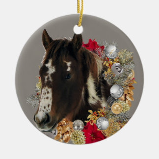 Ornement Rond En Céramique Joyeux Noël avec Brayley