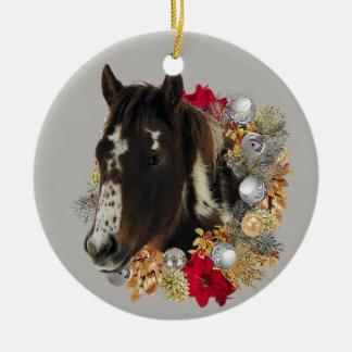 Ornement Rond En Céramique Joyeux Noël de Brayley