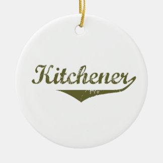Ornement Rond En Céramique Kitchener