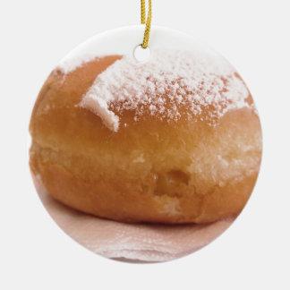 Ornement Rond En Céramique Krapfen simple (beignet italien)