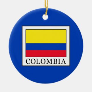 Ornement Rond En Céramique La Colombie