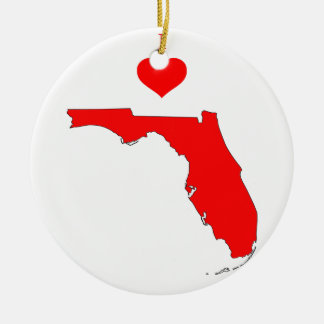 Ornement Rond En Céramique La Floride