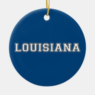 Ornement Rond En Céramique La Louisiane