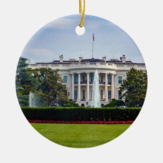 Ornement Rond En Céramique La Maison Blanche