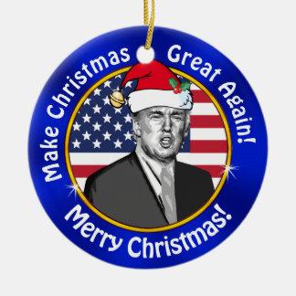 Ornement Rond En Céramique L'atout bon marché rendent Noël grand encore pour