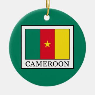 Ornement Rond En Céramique Le Cameroun