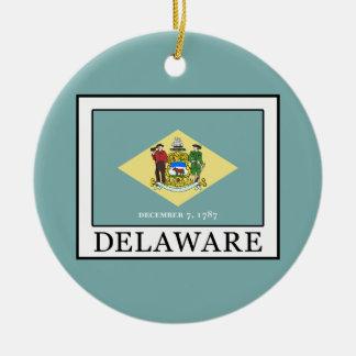 Ornement Rond En Céramique Le Delaware