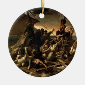 Ornement Rond En Céramique Le radeau de la méduse - Géricault