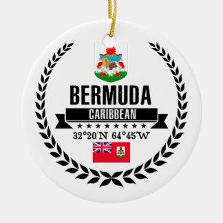 Ornement Rond En Céramique Les Bermudes