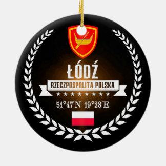 Ornement Rond En Céramique Łódź