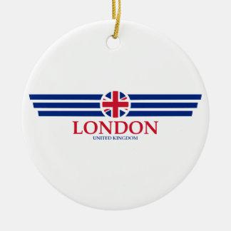 Ornement Rond En Céramique Londres