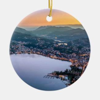 Ornement Rond En Céramique Lugano Suisse