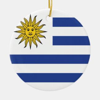 Ornement Rond En Céramique L'Uruguay