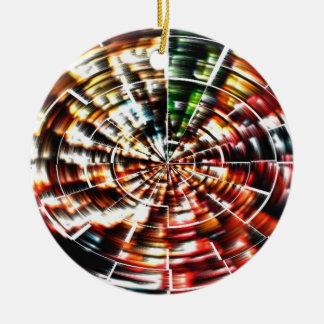 Ornement Rond En Céramique Mandala de haute énergie