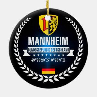 Ornement Rond En Céramique Mannheim