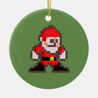 Ornement Rond En Céramique Méga de PXL Père Noël