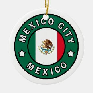 Ornement Rond En Céramique Mexico Mexique