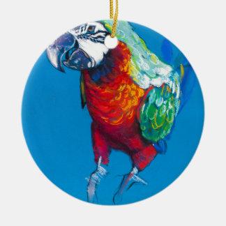 Ornement Rond En Céramique Miscellaneous - Pastel Animal Portrait Twelve