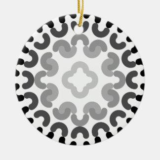 Ornement Rond En Céramique motif de cercle