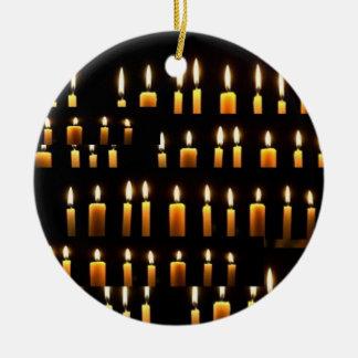 Ornement Rond En Céramique Nameste - décorations de bougie de Noël