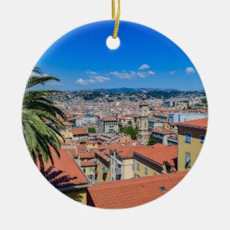 Ornement Rond En Céramique Nice du centre, France