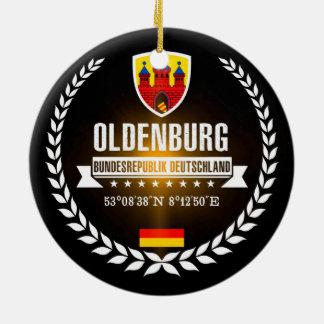 Ornement Rond En Céramique Oldenbourg