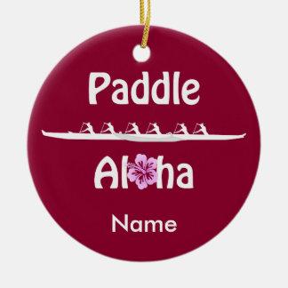 Ornement Rond En Céramique Palette aloha-Wahine