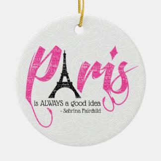 Ornement Rond En Céramique Paris est toujours une bonne idée