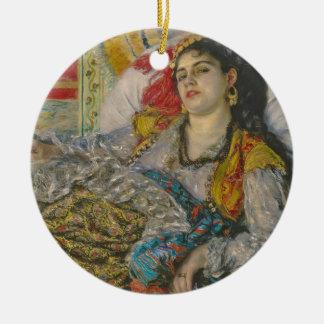 Ornement Rond En Céramique Pierre Olympia de Renoir |