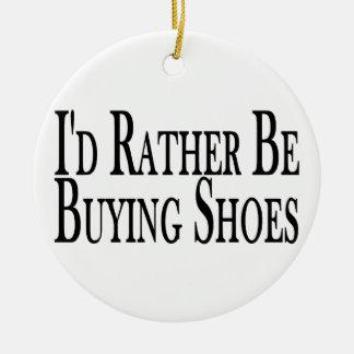 Ornement Rond En Céramique Plutôt achète des chaussures