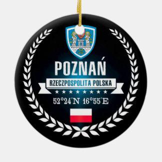 Ornement Rond En Céramique Poznań