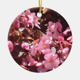 Ornement Rond En Céramique produits floraux
