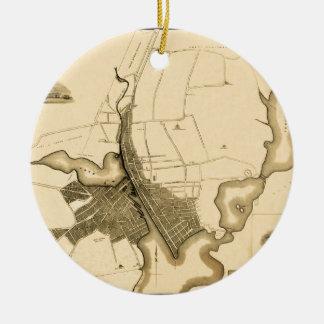 Ornement Rond En Céramique Providence 1823