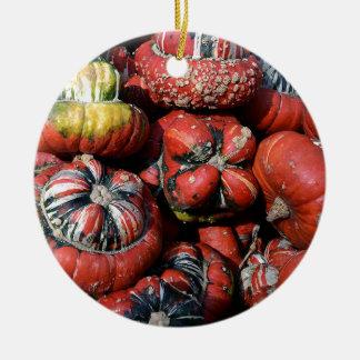 Ornement Rond En Céramique pumpkin-2738637
