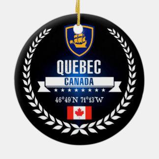 Ornement Rond En Céramique Québec