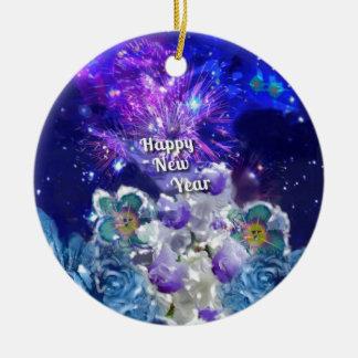 Ornement Rond En Céramique Regardez comment stupéfier sera la nouvelle année