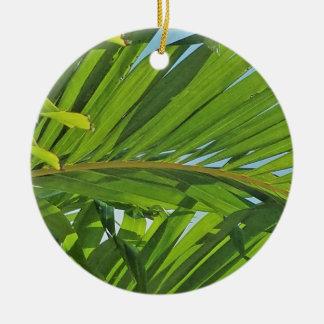 Ornement Rond En Céramique Rêves de palmier