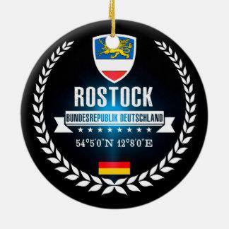 Ornement Rond En Céramique Rostock