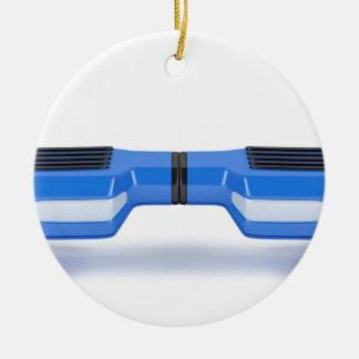 Ornement Rond En Céramique Scooter de compas gyroscopique