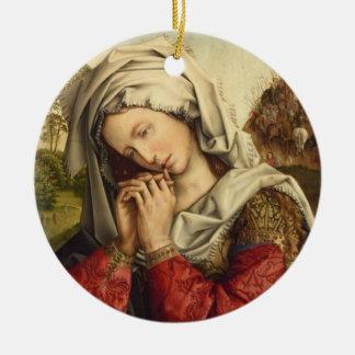 Ornement Rond En Céramique St Mary Magdalene jour de fête 22 juillet