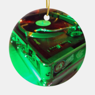Ornement Rond En Céramique Sujets de vinyle !